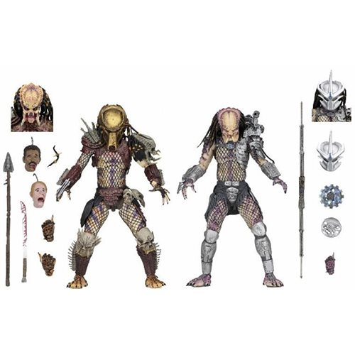 Predator Ultimate Bad Blood and Enforcer 7-Inch Scale Action Figure 2-Pack