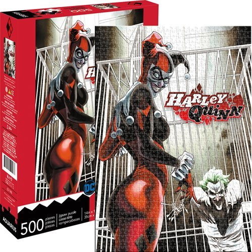 Harley Quinn and Joker 500-Piece Puzzle