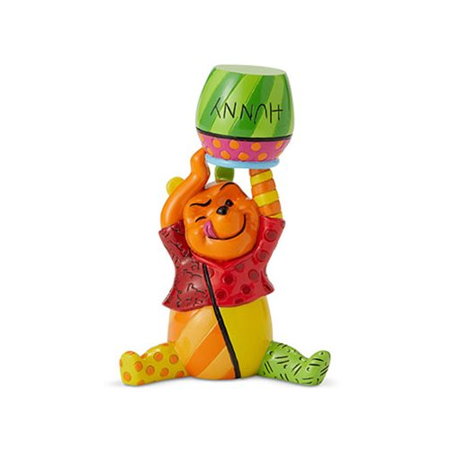 Disney Winnie the Pooh Pooh Mini Statue by Romero Britto