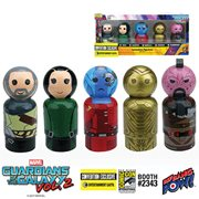 Guardians of the Galaxy Vol. 2 Icons Pin Mate Wooden Figure Set of 5 - Convention Exclusive