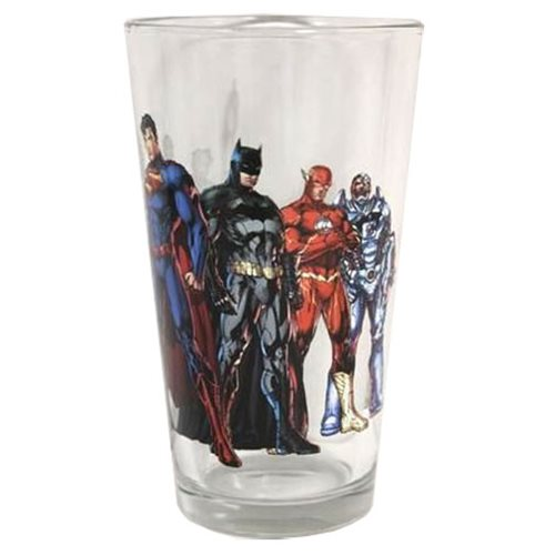 Justice League of America New 52 Toon Tumbler Pint Glass