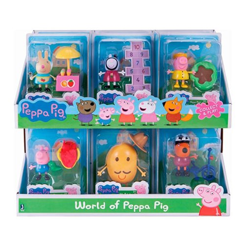 Peppa Pig Friends and Fun Mini-Figure Display Case