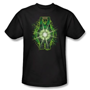 Green Lantern Movie Lantern Battery T-Shirt