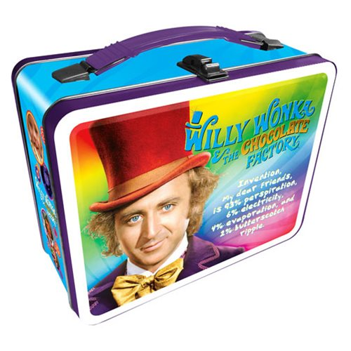 Willy Wonka and the Chocolate Factory Gen 2 Fun Box Tin Tote