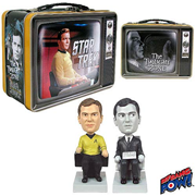 Star Trek / The Twilight Zone The Captain and The Passenger Monitor Mates - Convention Exclusive