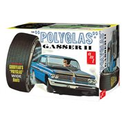 1962 Pontiac Catalina Poluglas Gasser II 1:25 Scale Model Kit