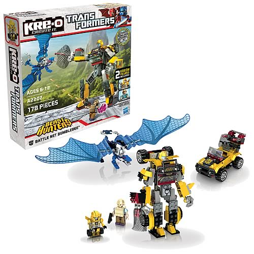Kre-o Transformers Beast Hunters Battle Net Bumblebee