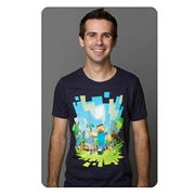 Minecraft Adventure Premium T-Shirt