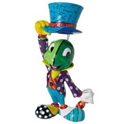 Disney Pinocchio Jiminy Cricket Hat Tip Statue by Romero Britto