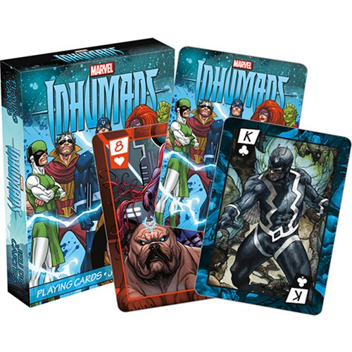 Inhumans Playing Cards