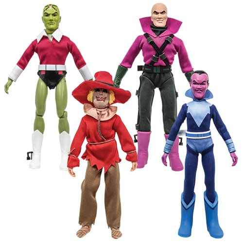 Super Friends Series 6 Retro 8-Inch Action Figure Set