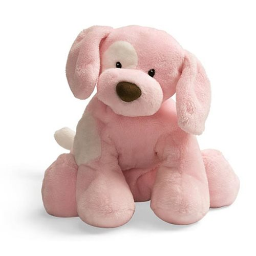 Spunky Dog Pink Medium 10-Inch Plush