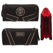 Black Panther Movie Zip-Around Wallet