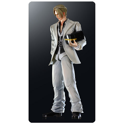 Final Fantasy VII Advent Children Rufus Shinra Action Figure