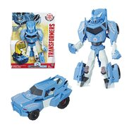 Transformers Robots in Disguise Hyper Change Heroes 3-Step Cybertron Strike Steeljaw