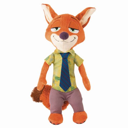 Zootopia Nick Wilde 13 1/2-Inch Talking Plush