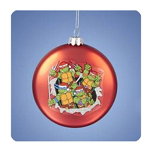 Teenage Mutant Ninja Turtles Red Disc Ornament