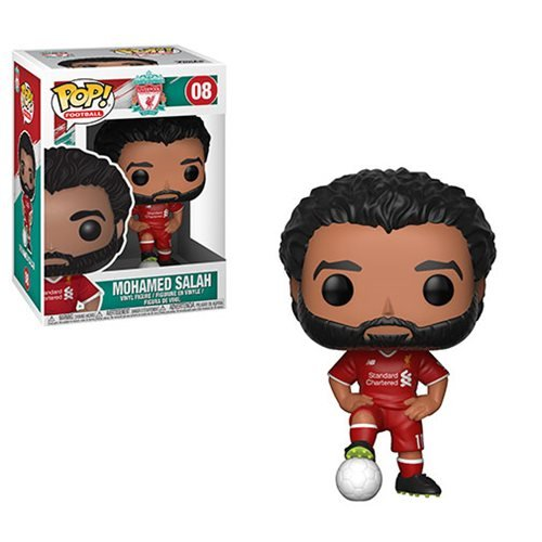 Football Liverpool Mohamed Salah Pop! Vinyl Figure #08