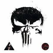 The Punisher Peel Stick and Stick Giant Wall Decal