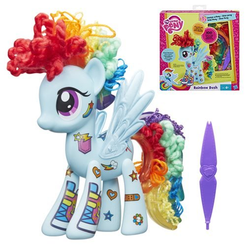 My Little Pony Design-a-Pony Rainbow Dash Figure