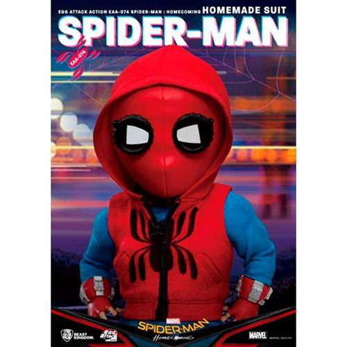 Spider-Man: Homecoming Homemade Suit EAA-074 Action Figure - Previews Exclusive