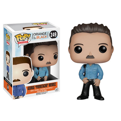Orange Is the New Black George Pornstache Mendez Pop! Vinyl Figure