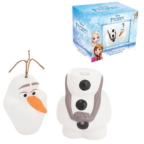 Frozen Olaf Sculpted Salt and Pepper Set