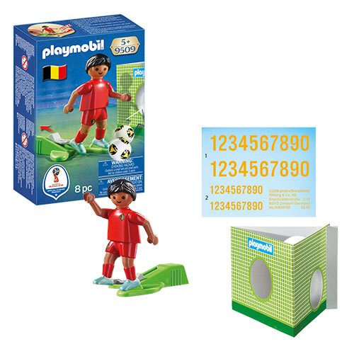 Playmobil 9509 Soccer National Team Player Belgium Action Figure
