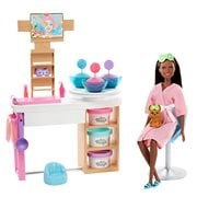 Barbie Face Mask Spa Day Brunette Doll and Playset