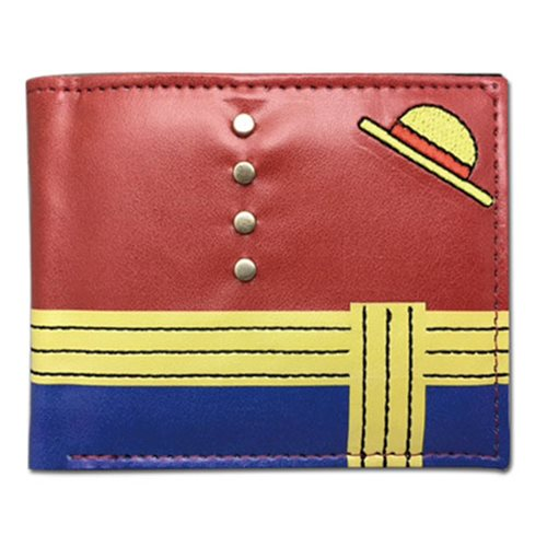 One Piece Luffy Hat Wallet