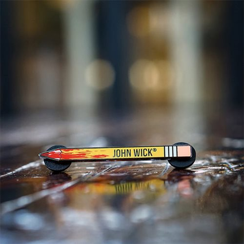 John Wick A F@#king Pencil Luxury Enamel Pin