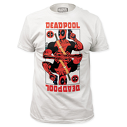 Deadpool Wild Card White T-Shirt