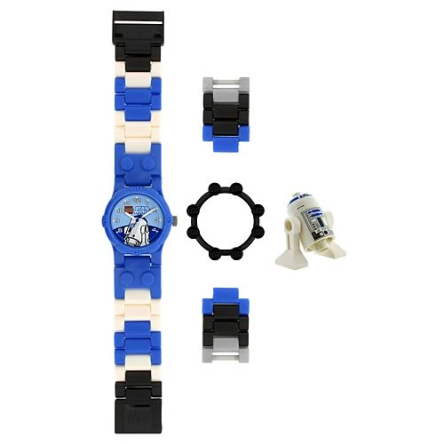 LEGO Star Wars R2-D2 Kids Watch with Minifigure