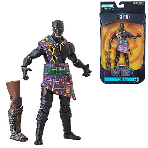 Black Panther Marvel Legends 6-Inch T'Chaka Black Panther Action Figure
