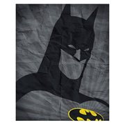 Batman Icon on old Paper Canvas Print