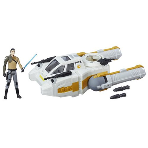 SW Rogue One Deluxe Y-Wing Scout Bomber, Not Mint