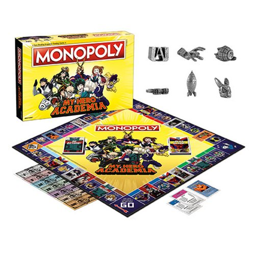 My Hero Academia Monopoly Game