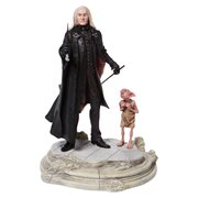 Harry Potter Lucious Malfoy with Dobby Statue