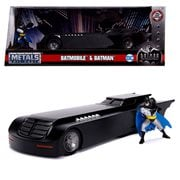 Batman: The Animated Series Batmobile 1:24 Scale Die-Cast Metal Vehicle with Mini-Figure