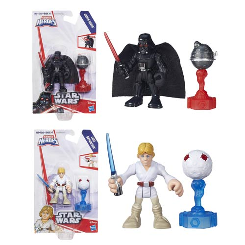 Star Wars Galactic Heroes Featured Figure Wave 1 Set