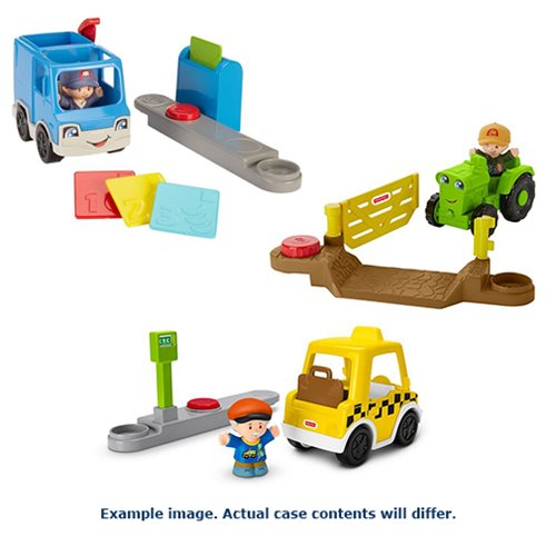 Little People Small Vehicle Case