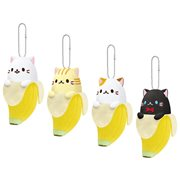 Bananya 5-Inch Plush Key Chain Display Case