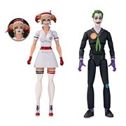DC Designer Series Bombshells Nurse Harley and The Joker by Ant Lucia Action Figure 2-Pack