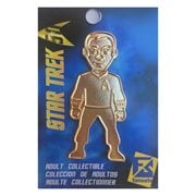 Star Trek Gold 50th Anniversary Captain Kirk Pin