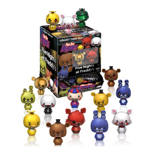 FNAF Pint Size Heroes Mini-Figure Display Case