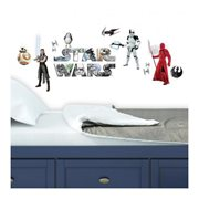 Star Wars: Episode VIII - The Last Jedi Peel and Stick Giant Wall Decals