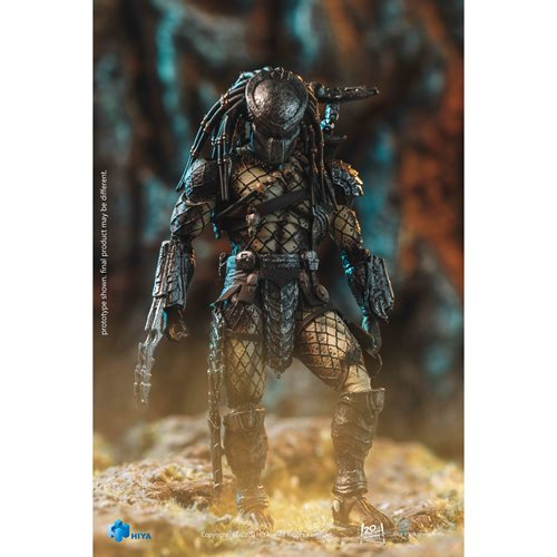 AVP Young Blood Predator 1:18 Scale Action Figure - Previews Exclusive