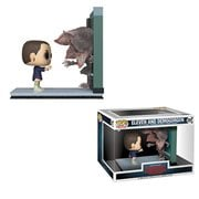 Stranger Things Eleven and Demogorgon Pop! Movie Moments