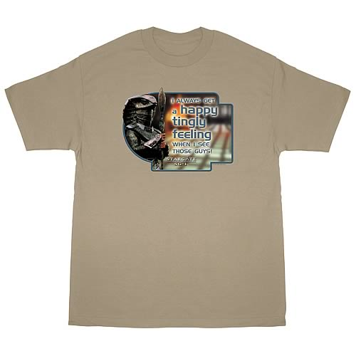 Stargate SG-1 Happy Feeling T-Shirt