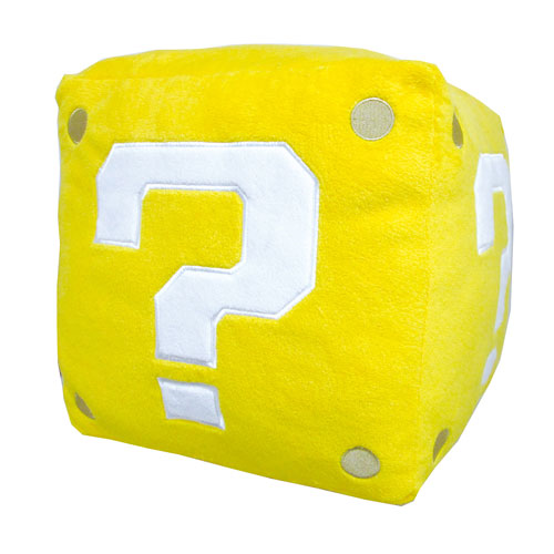 Super Mario Bros. Coin Box Pillow